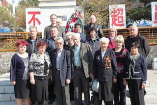Ветераны Уссурийска посетили места боевой славы и памятники советским воинам в Китае