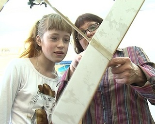Мечта взлететь. Ученики коррекционной школы моделируют самолеты