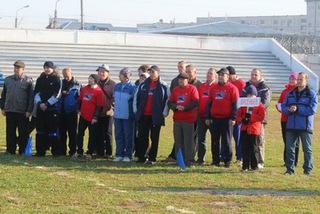 Команда из Уссурийска завоевала золото на краевой спартакиаде среди ветеранов спорта