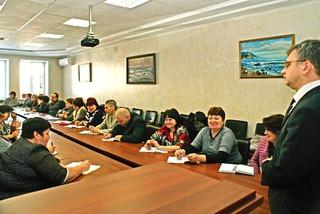 Приморские педагоги сели за парты в Уссурийске