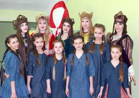Отчётный концерт театра моды «Diamond» прошёл в с. Борисовка