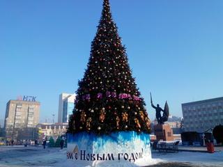 Открытие зимнего городка состоялось в Уссурийске