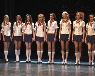 Уссурийские красавицы приехали с конкурса «Мисс Приморье»