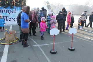 Маленькие Уссурийцы почувствовали себя частью Олимпиады