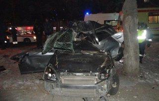 Два человека разбились в ДТП в Уссурийске