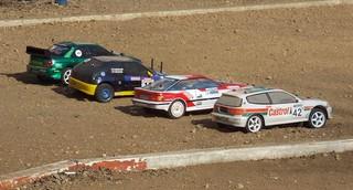 Любители автомодельного спорта разыграли кубок Уссурийска 2014