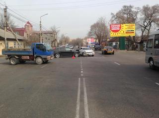 4-летняя девочка пострадала вчера в ДТП в Уссурийске