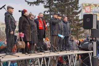 Около 8 тысяч жителей Уссурийска вышли на митинг в поддержку соотечественников на Украине