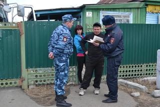 Полицейские Уссурийска провели профилактические мероприятия в селе Борисовка
