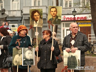Колонна бессмертного полка пройдет по улицам Уссурийска 8 мая