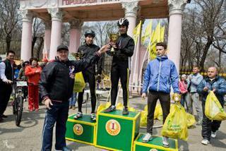 Массовая велогонка прошла в Уссурийске