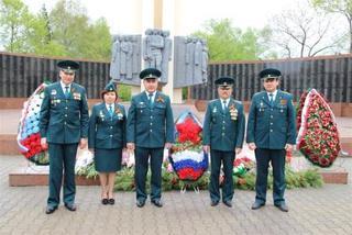 Уссурийские таможенники приняли участие в мероприятиях, посвященных Дню Победы