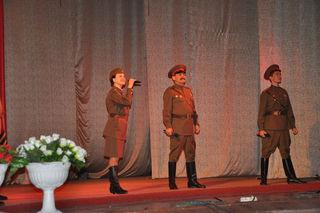 Концерт, посвященный 69-ой годовщине Победы в Великой Отечественной войне, прошёл в ДОРА