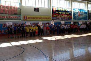 Спартакиада территориальных органов самоуправления впервые прошла в Уссурийске