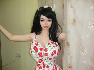 Лолита Ричи — новая живая кукла из России
