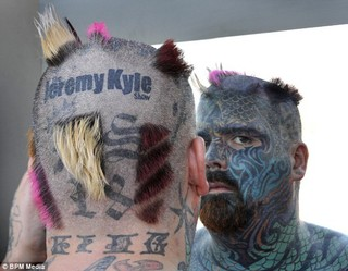 Самый татуированный человек в Британии