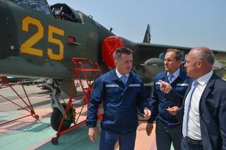 Авиационный ремонтный завод в Уссурийске модернизируют