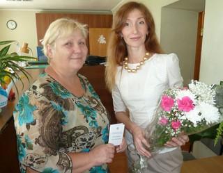 Работникам ЛРЗ ко Дню железнодорожника вручили пенсионные удостоверения в Уссурийске