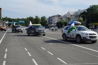 Международный автопробег Москва-Сеул прибыл в Уссурийск