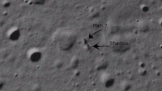 Интернет-пользователи обнаружили пришельца на Google-картах Луны