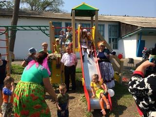 Еще четыре детские площадки появятся в Уссурийске по