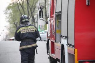 Уссурийские пожарные потушили дачный дом в садовом обществе «Мелиоратор 2»