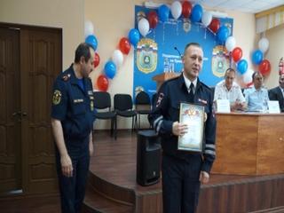 Сотрудники ГИБДД из Уссурийска награждены за спасение людей на пожаре