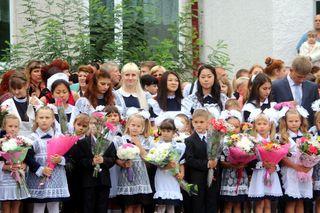 Более 2 тысяч первоклассников из Уссурийска впервые услышали школьный звонок