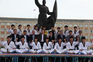 Команда всемирно известного корейского центра таеквондо Куккивон побывала в Уссурийске