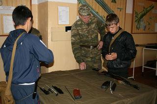 Соревнования военно-спортивной игры «Орленок» прошли в Уссурийске