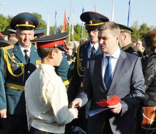 80 приморских мальчишек прошли посвящение в суворовцы