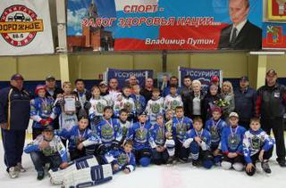 хоккейный турнир памяти И. Королева состоялся на уссурийской «Ледовой арене»