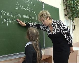 Ольга Реуцкая, педагог из 32 школы, - одна из лучших в стране