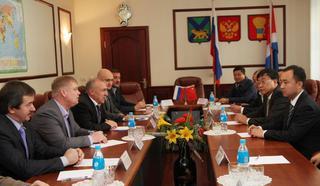 Делегация Собрания Народных представителей г. Суйфэньхэ посетила Уссурийск