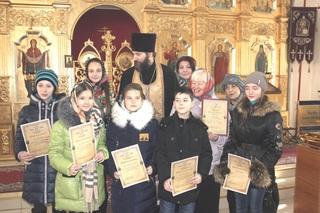 Творчество детей поощрили в православном храме Уссурийска