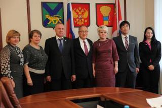 Консул Японии побывал с ознакомительным визитом в Уссурийске