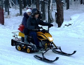 Снегоход — это не роскошь, а русское-народное средство передвижения