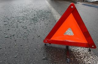 На въезде в  Уссурийск произошло опрокидывание автомашины