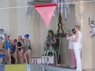 Дед Мороз в образе Нептуна посетил детвору в Уссурийске