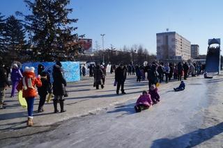 Жители Уссурийска предпочитают активный отдых на зимних каникулах