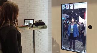 Toshiba создала виртуальную гардеробную