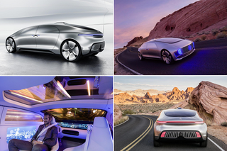 Mercedes-Benz представил концепт беспилотного автомобиля будущего