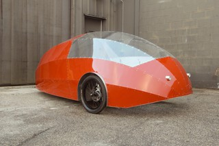Американский инженер представил гибрид велосипеда и автомобиля