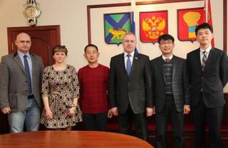 Южнокорейская делегация посетила Уссурийск