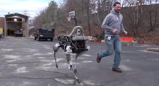 Четвероногий робот-собака покорил интернет
