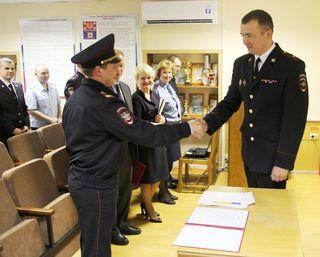 Сотрудники и ветераны Линейного отдела МВД на ст. Уссурийск отметили профессиональный праздник