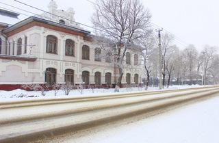 Снегопад обрушился на Уссурийск