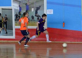В Уссурийске впервые проходит первенство Дальнего Востока по мини-футболу среди девушек