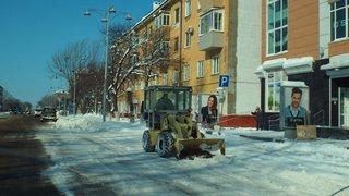 В Уссурийске проверяют работу коммунальных служб после снегопада