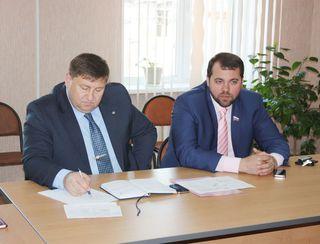 Первый заместитель главы администрации округа провел личный прием граждан в селе Воздвиженка